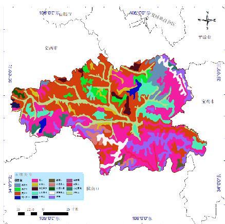 全国土壤类型数据