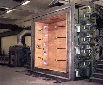 多功能建筑构件耐火极限试验炉