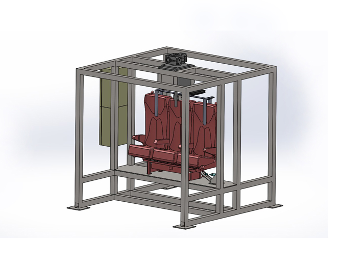 TY-ZYXZ-01型機車座椅旋轉試驗設備