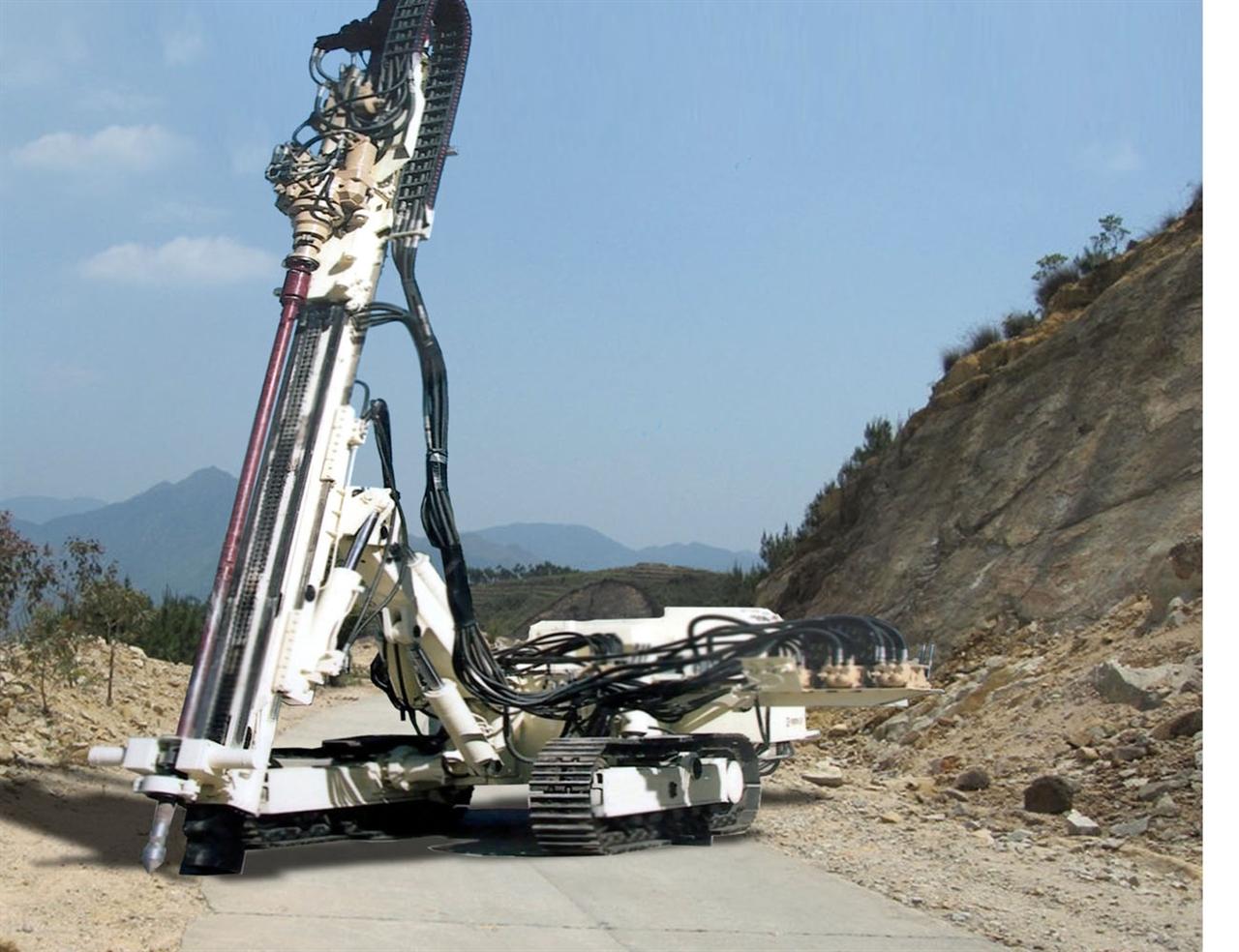 海王星-120B型全液压履带钻机