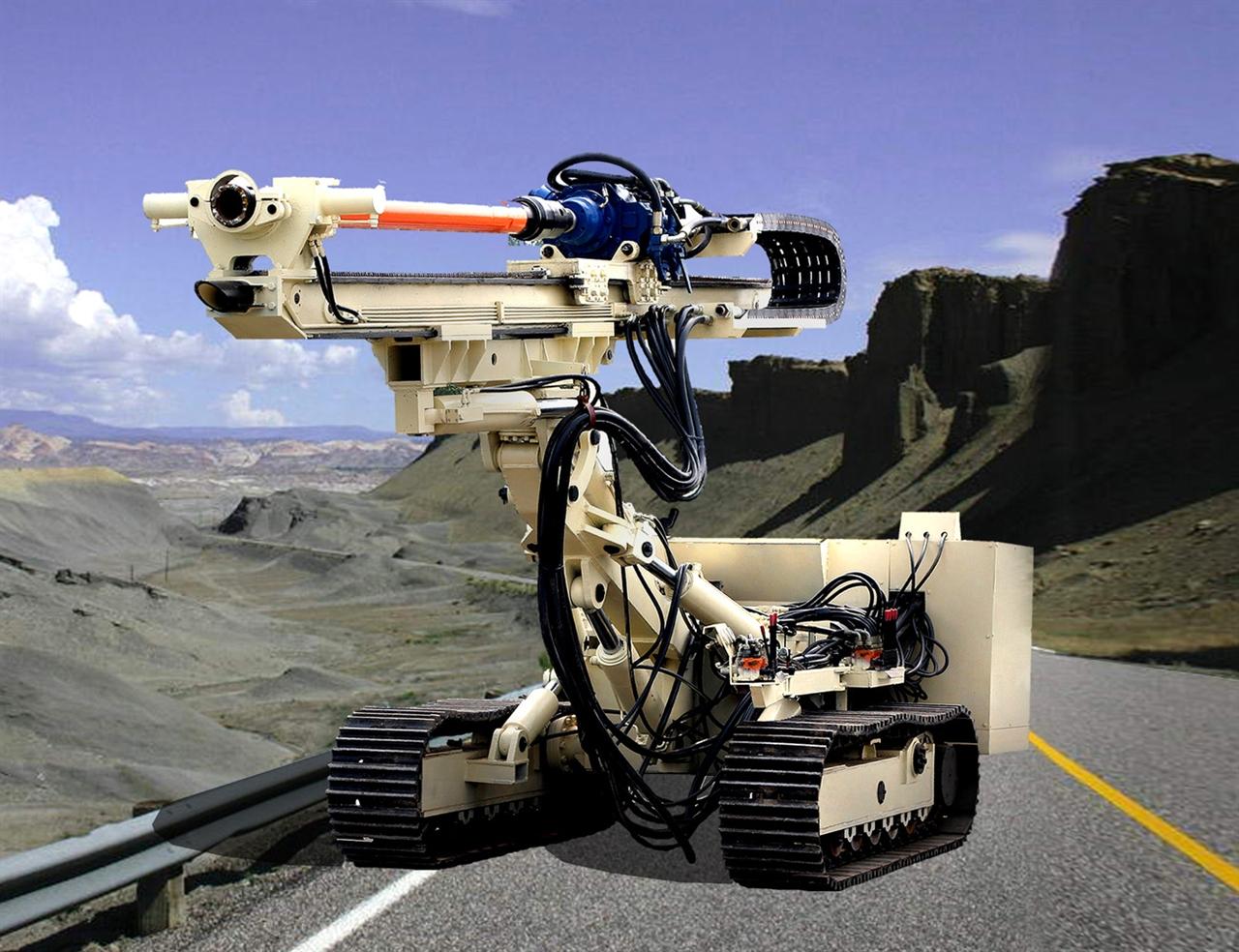 海王星A型系列全液压履带钻机