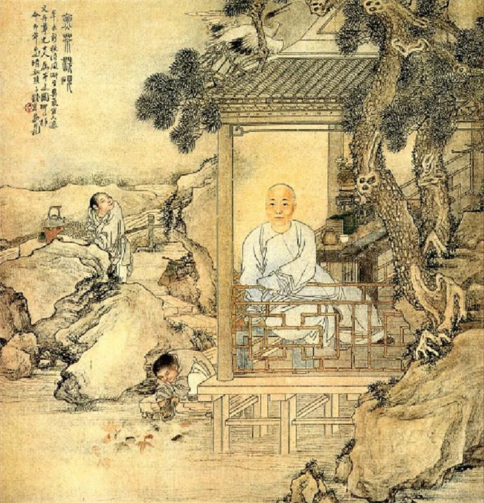 刘松年斗茶图_夜话历代茶具(一)古代茶具源起 -北京元贞国际文化发展有限公司