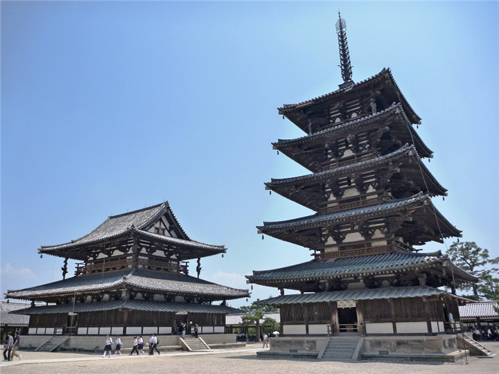 日本经典古代建筑的中国魂
