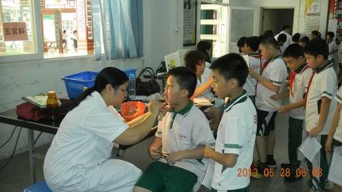 [小榄镇]   关爱学生,注重健康