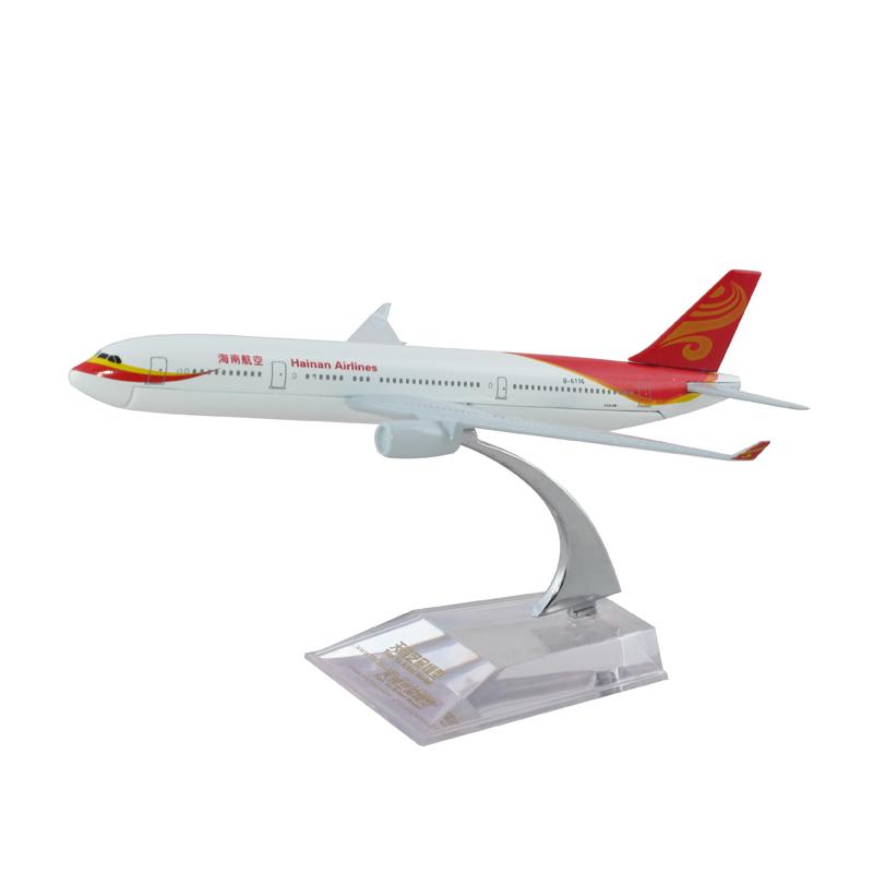 客机模型-合金飞机模型-空客a330海南航空飞机模型