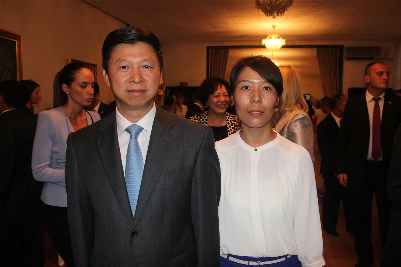 General Secretary Cui Jianghong and Minister of the International Department, Central Committee CPC Song Tao