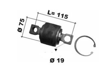 repair kits, torque rod bush  Scania