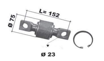 repair kits, torque rod bush  DAF