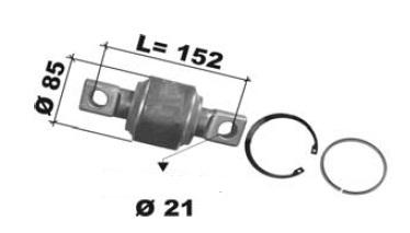 repair kits, torque rod bush  MAN