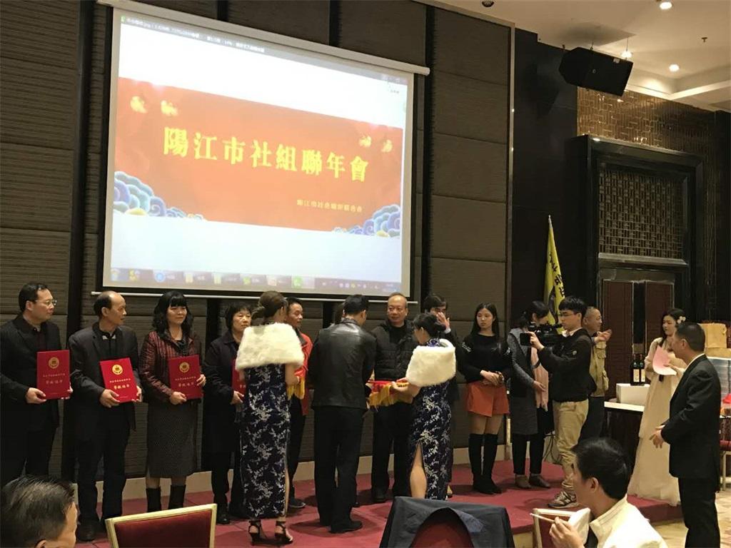 2017年阳江市社组联年会