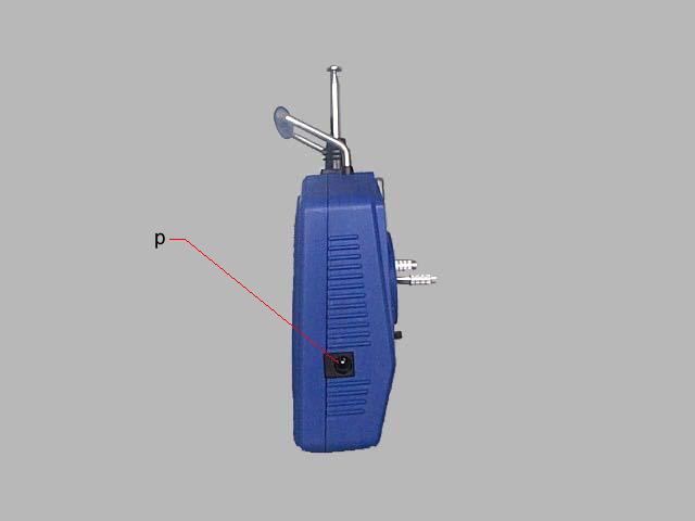 接收机舵机线 e.右操作臂 m.带扣眼(带扣为选择件) u.接收机电机线 f.