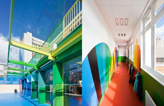 幼兒園走廊設計