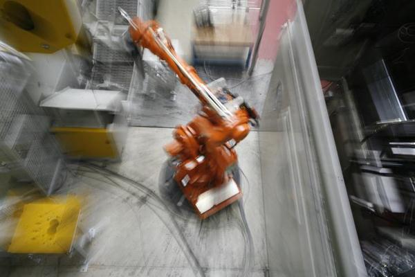 铸造机器人