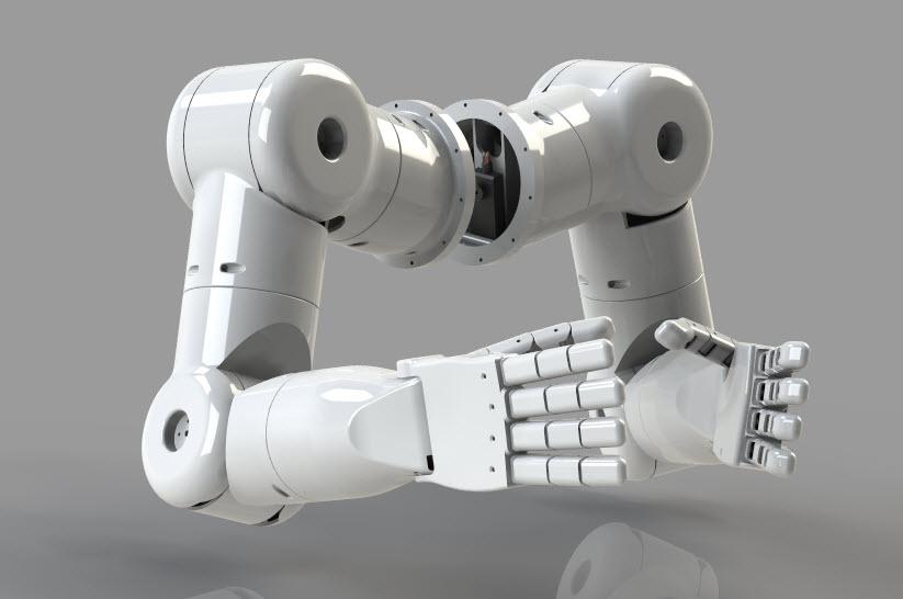 仿人机器人手臂