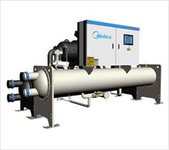 超高效降膜式螺杆冷水机组