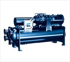 E+/E超高效双级压缩降膜式离心机组