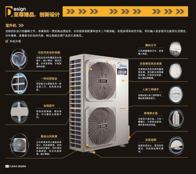 美的tr系列全直流变频家用中央空调