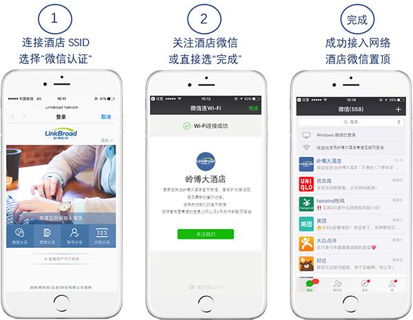 LinkBroad微信连WIFI功能免费
