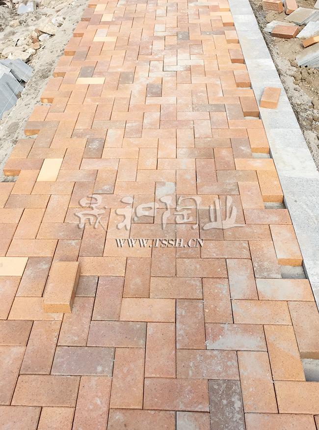 天津中建幸福城窑变砖