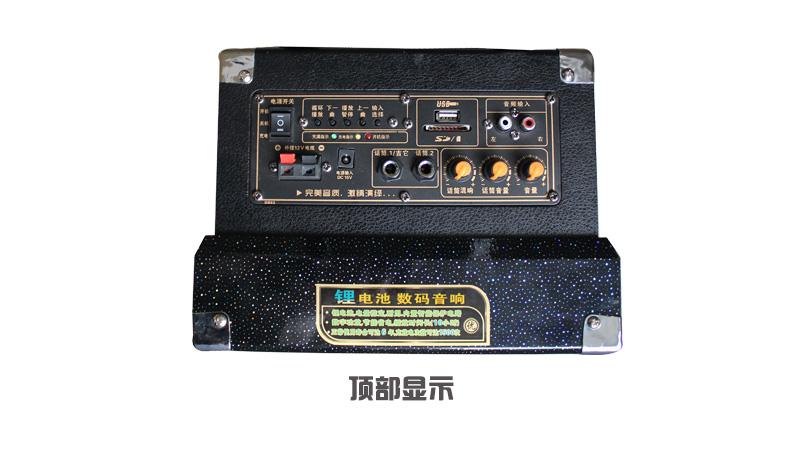 韩国现代d1612电瓶音箱