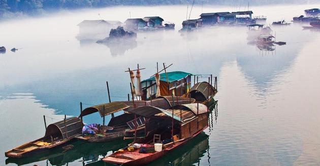 龙江渔家,美丽的小村庄