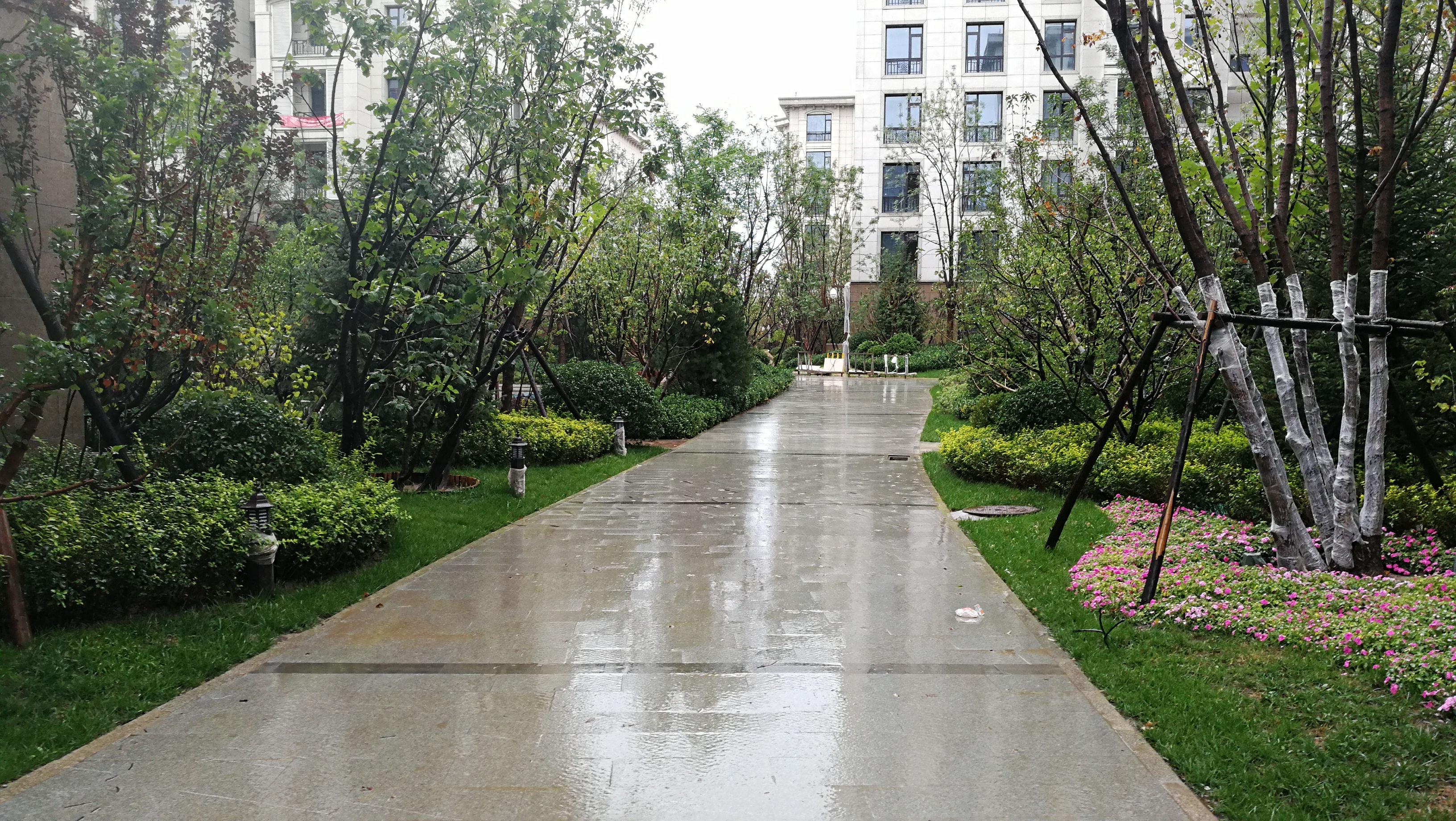 西安龙湖香醍国际四期景观工程