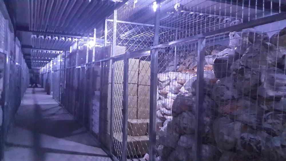 新疆库尔勒牛羊肉冷库