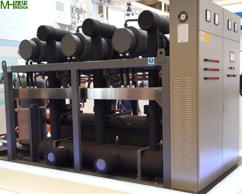 茂华---氟利昂系统半封闭螺杆机组