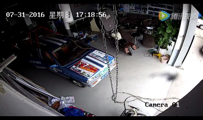 桂林市恭城县监控记录下广西梧州地震的可怕一幕