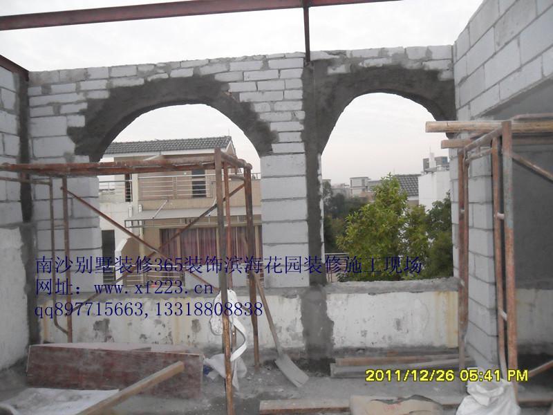 钢结构墙体建设基本完毕