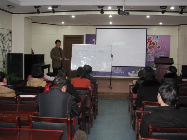 2015年3月11日铜陵市文化馆继续举办摄影公益性免费培训班