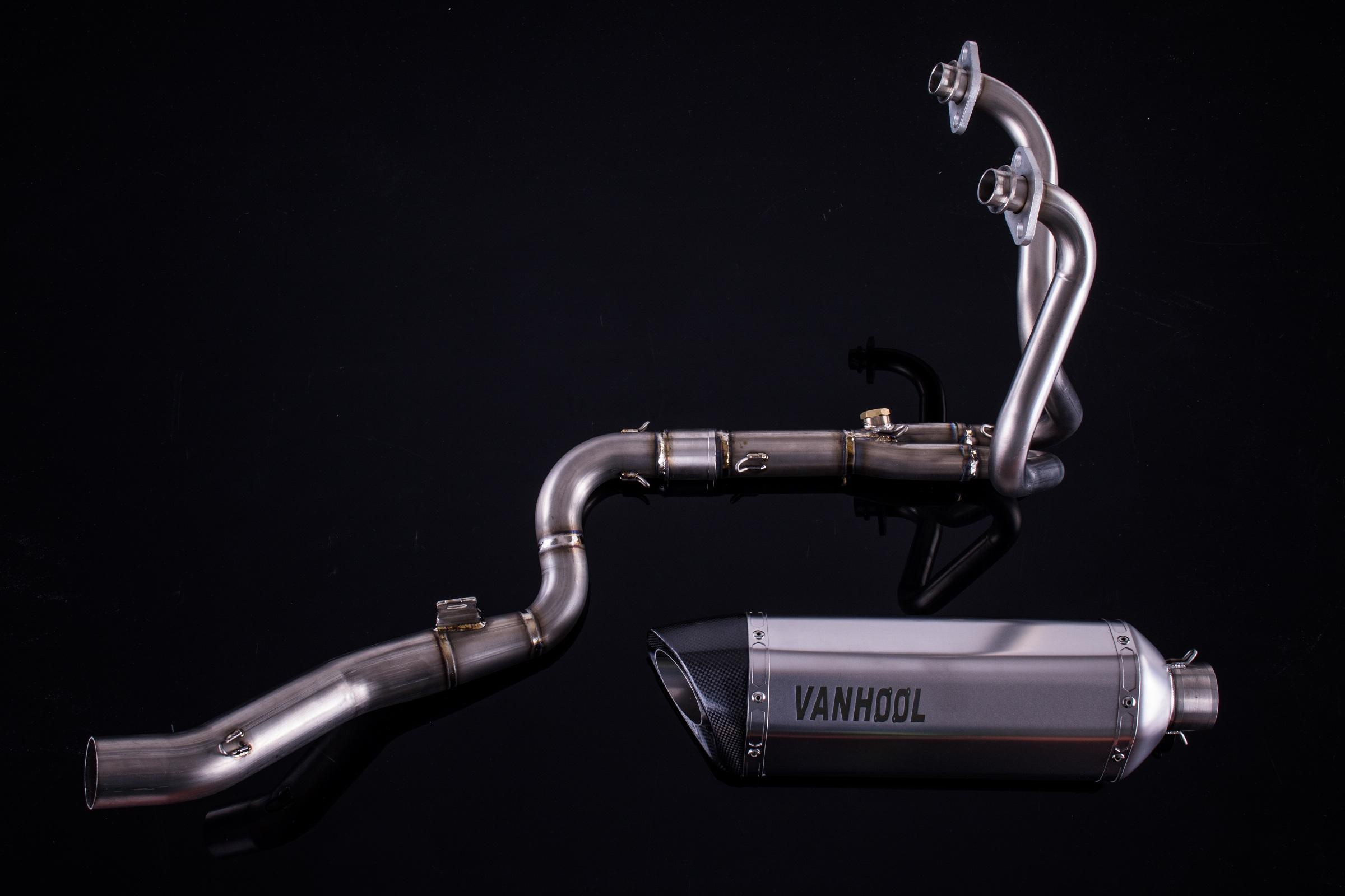 摩托车川崎忍者kawasaki Ninja250钛合金碳纤维排气管