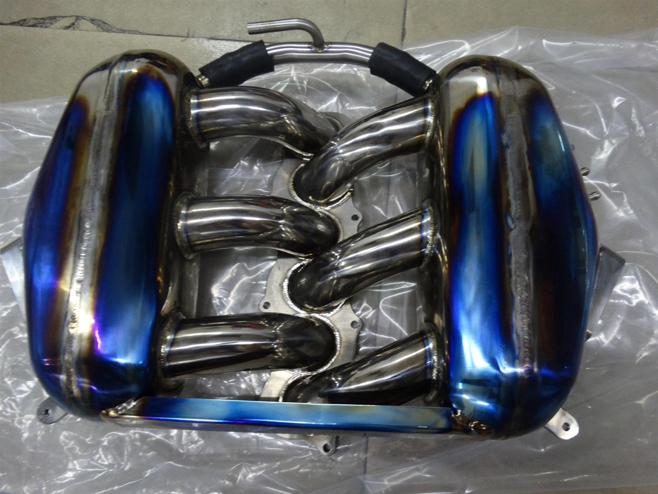 Nissan GTR R35 Skyline尼桑钛合金进气头焦进气管