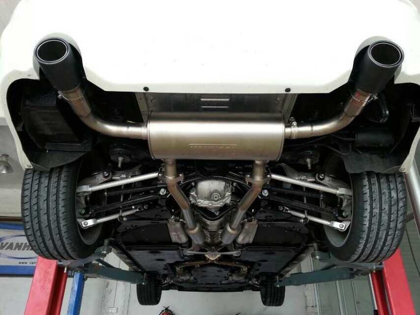 汽车高性能改装排气管英菲尼迪Q50