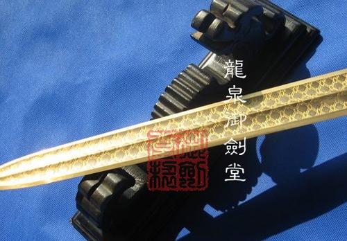 越王勾践用剑-青铜剑送剑架