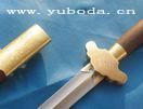 手工刻花百炼钢软剑