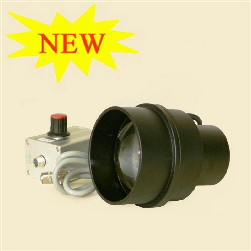 用于与远心光学镜头配套的LED平行光源