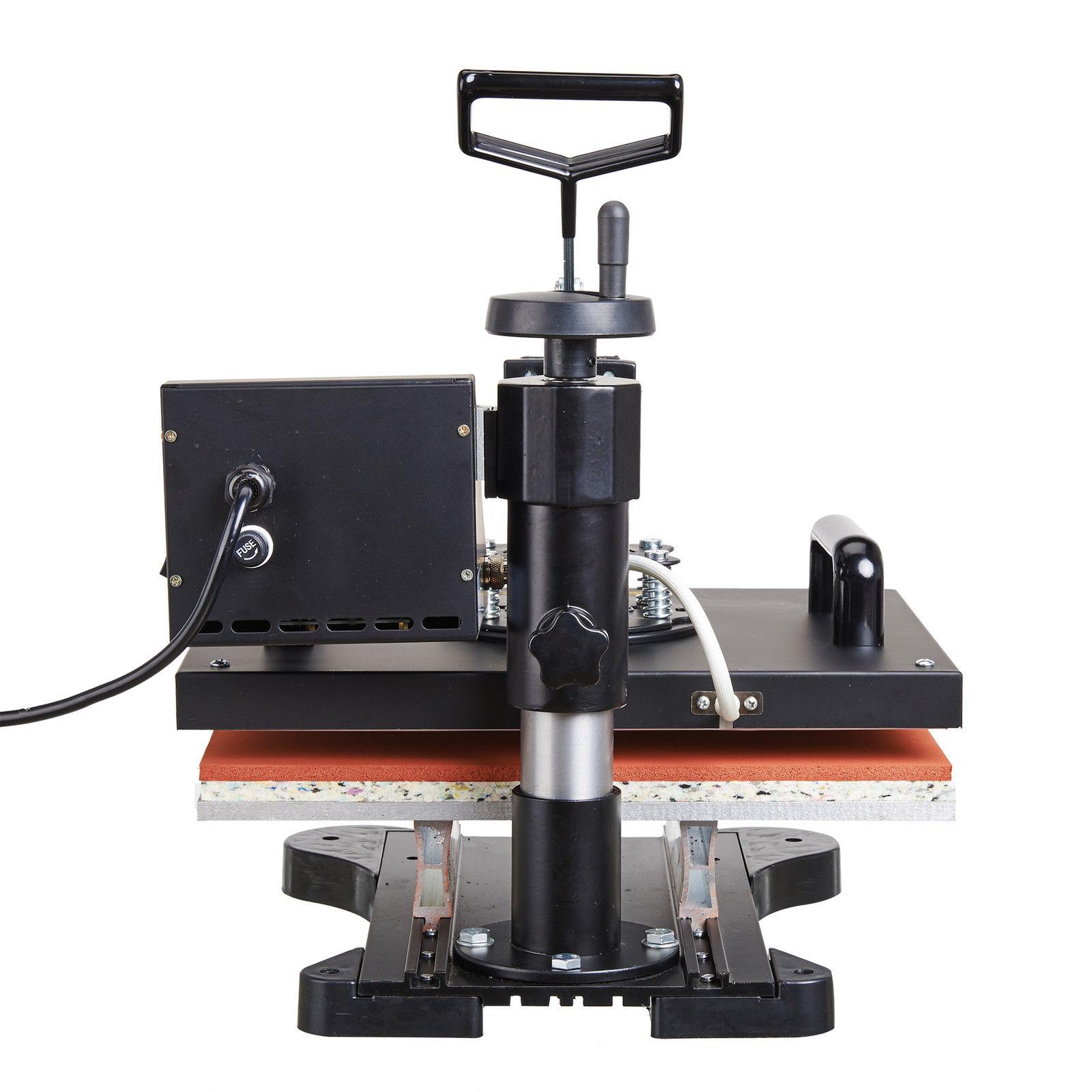 6 in 1 heat press machine