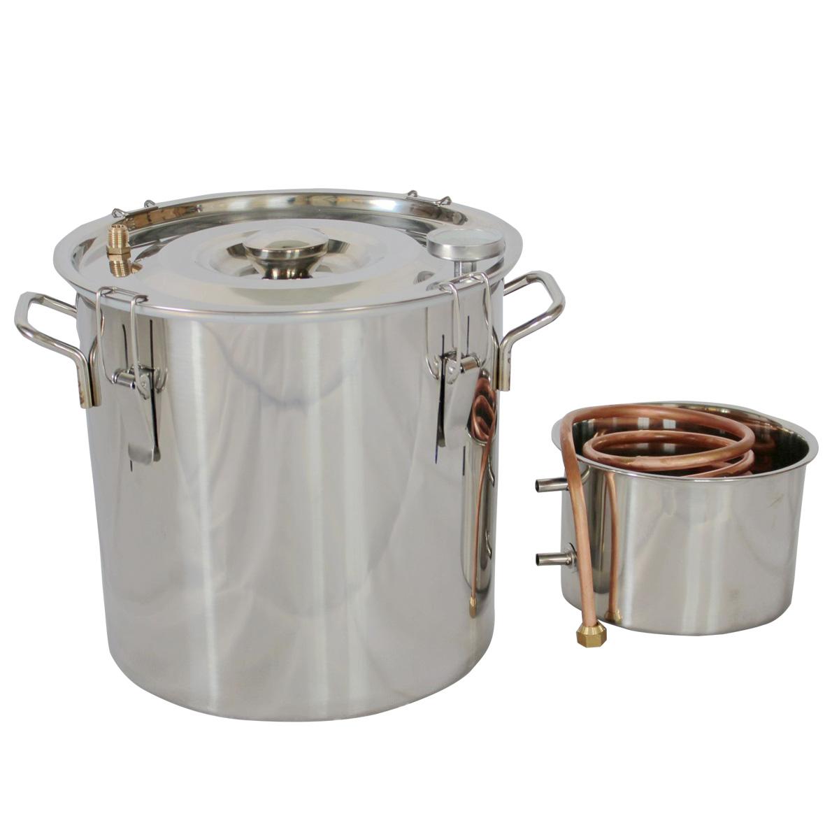 5 Gallon Water Distiller ~ Gal water alcohol wine distiller moonshine still