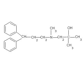 2,N-二甲基-N-(3,3-二苯基丙基)–1-氨基-2-丙醇