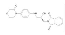 2-[(2R)-2-羟基-3-[[4-(3-氧代-4-吗啉基)苯基]氨基]丙基]-1H-异吲哚-1,3(2H)-二酮