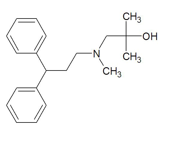 2,N-Dimethyl-N-(3,3-diphenylpropyl)-1-amino-2-propyl alcohol