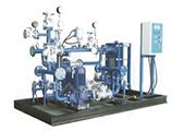Plate heat exchanger sets