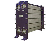 Plate heat exchangers for rich & poor liquid solutions