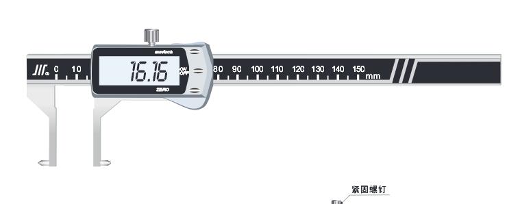 数显内环槽卡尺