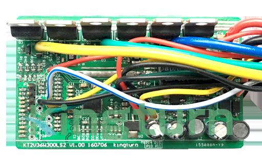 15~48V 30~300W 小體積無刷直流電機驅動方案