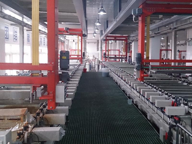 钕铁硼行业用U型自动化生产线