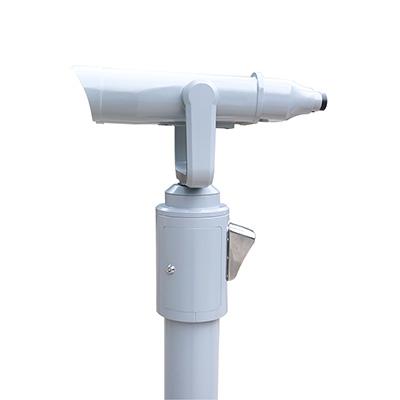 远锦扫码投币共享望远镜光学性能卓越,防水性能优越被众多景区采用