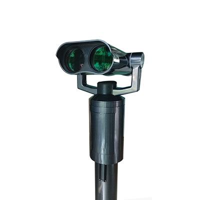 远锦扫码投币式望远镜性能优越被国内外众多风景区采用