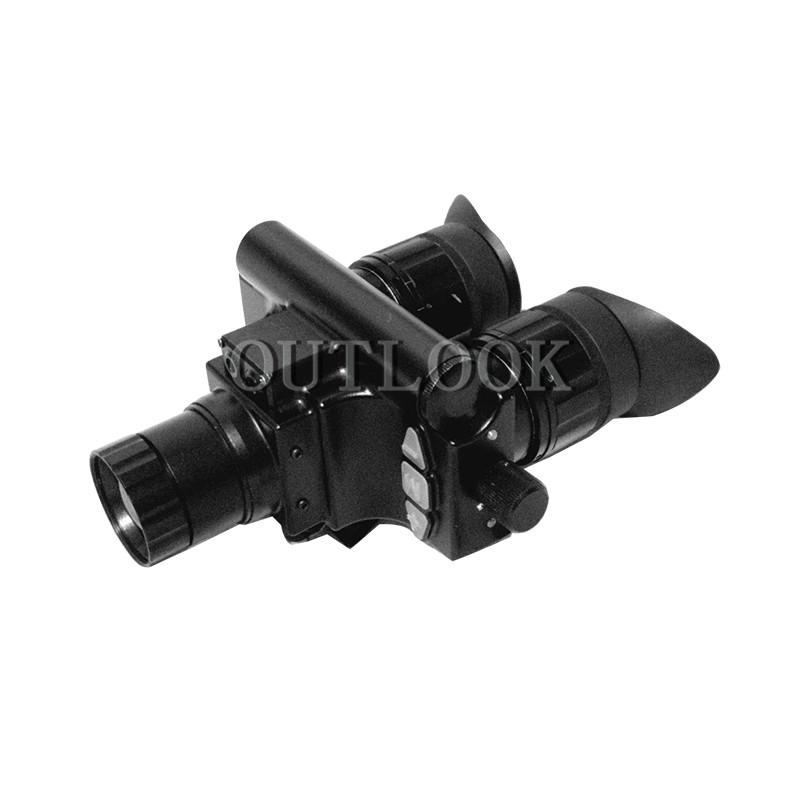 YJRK(50mm)双目红外热成像仪 红外探测器 可头盔可手持